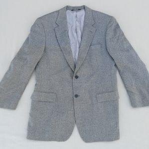 Jos. A. Bank Gray Wool Herringbone Sport Coat